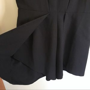 ASOS Pants - ASOS Tulip Front Black Romper